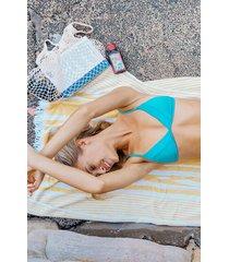 hunkemöller celine triangel-bikiniöverdel blå