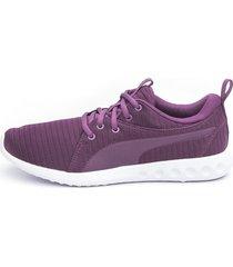 tenis violeta puma carson 2