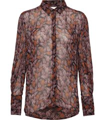 kathyiw blouse blouse lange mouwen multi/patroon inwear