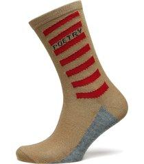 dagmar poetry lingerie socks regular socks beige becksöndergaard