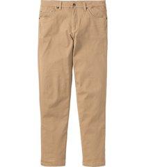 pantaloni elasticizzati classic fit straight (beige) - bpc bonprix collection