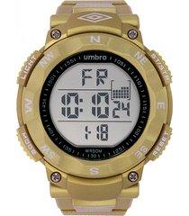 reloj digital amarillo umbro