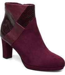 boots shoes boots ankle boots ankle boot - heel röd tamaris