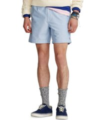 polo ralph lauren men's 6-inch polo prepster oxford shorts