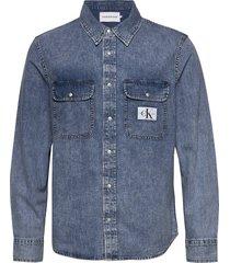 archive regular shirt overhemd casual blauw calvin klein jeans
