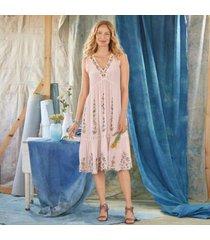 sundance catalog women's esmee dress in blush rose petite 2xs