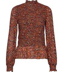 picaiw blouse blouse lange mouwen oranje inwear
