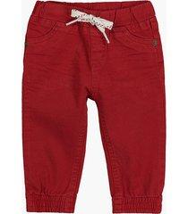 pantalon rojo cheeky brick