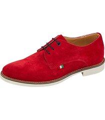skor babista röd