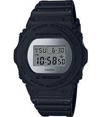 reloj g shock dw-5700bbma-1dr negro resina