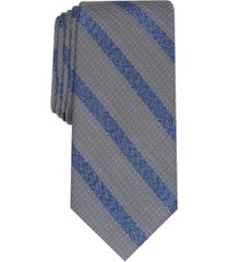 alfani men's slim stripe tie, created for macy's
