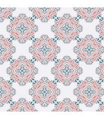 papel de parede arabesco ã‰tnico 57x270cm - multicolorido - dafiti