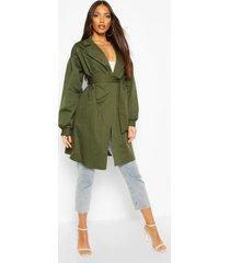 extreme sleeve trench coat, khaki
