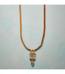 adonnah langer women's beaded tapestry necklace by sundance