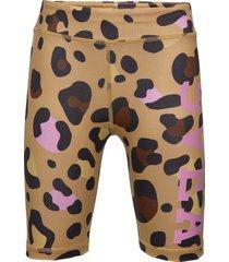 k. leo biker shorts shorts brun svea