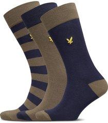 scotty underwear socks regular socks multi/mönstrad lyle & scott