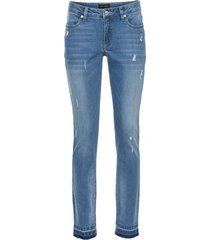 jeans elasticizzato skinny 7/8 (blu) - bodyflirt