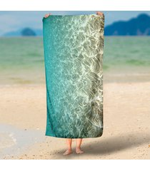 clear-waves-rippling-in-the-sun-3d-printed-rectangle-tapestry-wall-hanging-beach