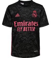 real madrid youth third jersey t-shirts football shirts zwart adidas performance