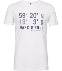t-shirt, short sleeve, crew neck, a t-shirts short-sleeved vit marc o'polo