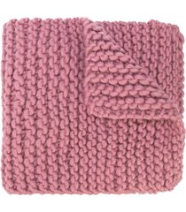 i love mr mittens billie chunky knit scarf - pink