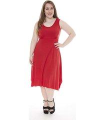 vestido rojo mecano cortejo silea