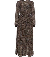 echo dress maxi dress galajurk multi/patroon minus