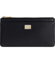 dolce & gabbana dauphine print leather card holder