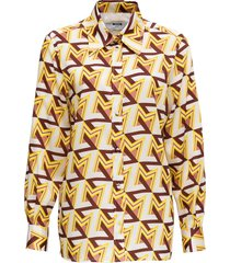 optical pattern shirt