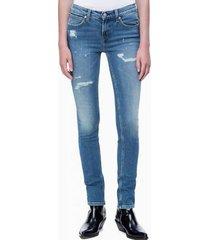 jeans skinny body azul calvin klein