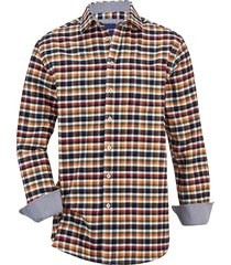 overhemd babista wit::marine::oranje::rood::groen