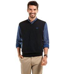 sweater sin mangas business negro ferouch