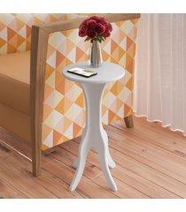 mesa de canto kin branco - artely