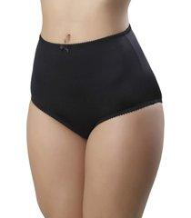 calcinha mardelle lateral larga preta - preto - feminino - dafiti