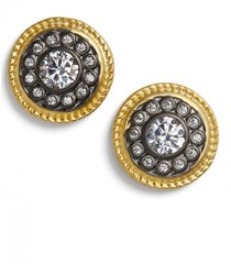 women's freida rothman 'nautical button' stud earrings