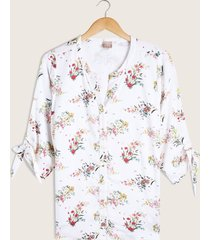 blusa estampada manga ¾-14