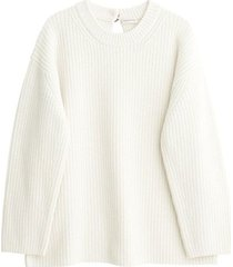 amicia ribbed knit sweater
