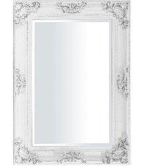 lustro w drewnianej ramie silensio