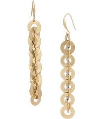 robert lee morris soho circle link linear earrings