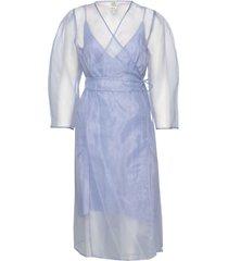 abylene jurk knielengte blauw baum und pferdgarten
