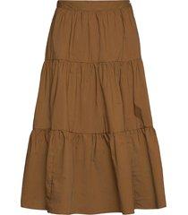 shai knälång kjol brun baum und pferdgarten