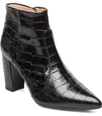 tilden_cro shoes boots ankle boots ankle boots with heel svart unisa