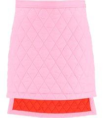 burberry asymmetrical skirt