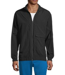 y-3 men's stand collar jacket - black - size xs