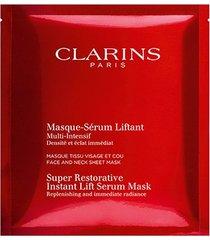 máscara facial clarins super restorative instante lift serum