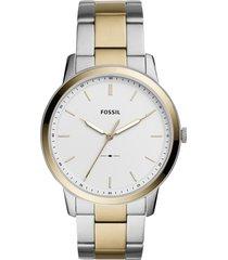 reloj fossil para hombre - the minimalist   fs5441