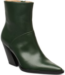 escape from the west ankle boot shoes boots ankle boots ankle boots with heel grön anny nord