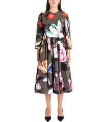 prada beauty flower dress