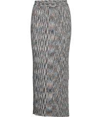 pira knit skirt knälång kjol just female