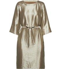 dotea jurk knielengte zilver rabens sal r